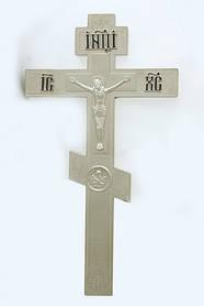 Хрест напрестольний 2-6 нікель