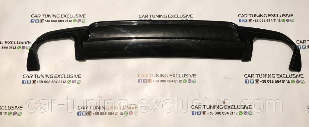 BRABUS rear difusser iBusiness for Mercedes S-class W222