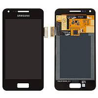Дисплейный модуль (дисплей + сенсор) для Samsung Galaxy S Advance i9070, черный, оригинал