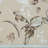 Комплект Декоративных Штор в детскую Испания Цветок Ириса Беж-Серый, арт. MG-146283, 170*135 см, фото 4
