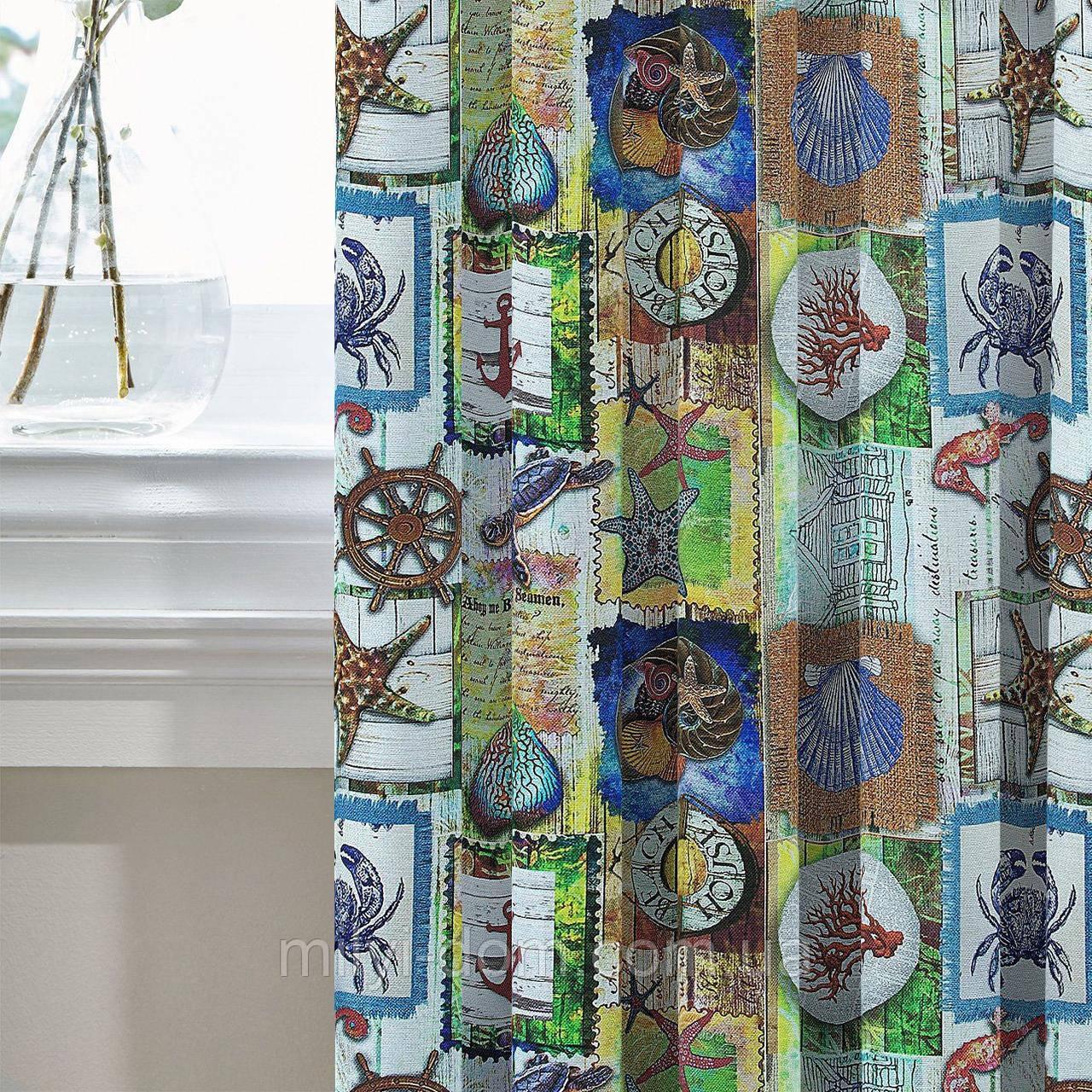 Шторы Декоративные в детскую комнату Испания Conchas , арт. MG-143253, 170*135 см