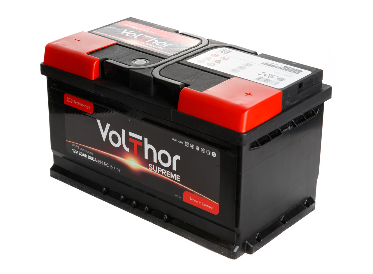 Аккумулятор Volthor Supreme 6СТ-85-АЗ (0)
