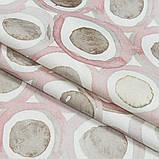 Шторы в Детскую комнату MacroHorizon Кружочки Розовые (MG-DET-155986). 270*145 см, фото 2