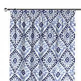Комплект Штор в детскую Испания РОМБЫ Синий, арт. MG-140344, 275*145 см, фото 2