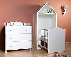 Коллекция детской мебели CHILDHOME BEACH CABIN WHITE