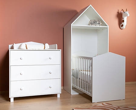 Колекція дитячих меблів CHILDHOME BEACH CABIN WHITE, фото 2