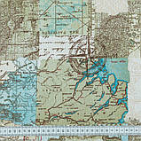 Комплект Декоративных Штор в детскую комнату Испания Карта Голубой, арт. MG-148864, 275*170 см, фото 2