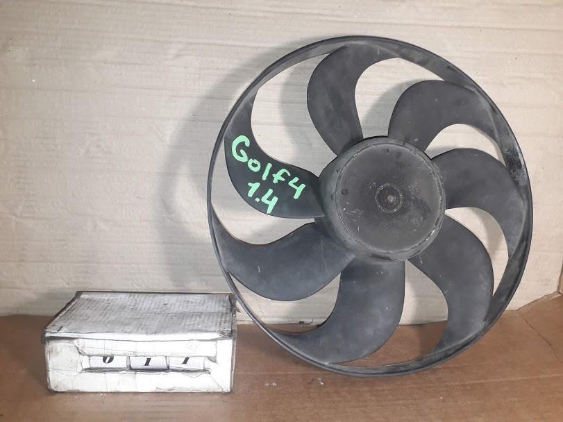 №11 Б/у Вентилятор охлаждения 6N0959455B 1,4-1,6 для Polo 6N,Fabia 1994-2001