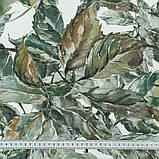 Шторы в Детскую комнату MacroHorizon Листья Оливка (MG-DET-160948), 270*195 см, фото 3