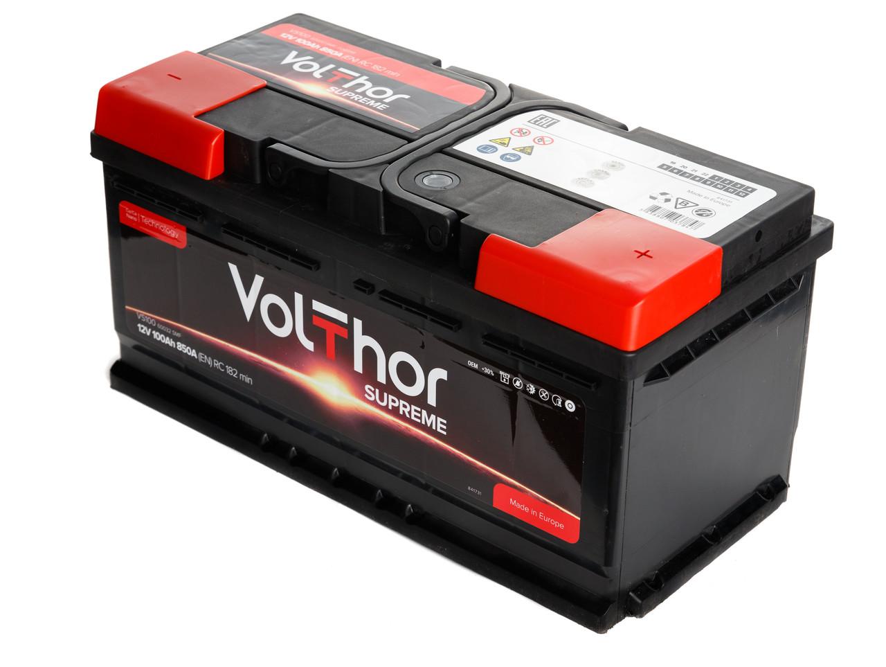 Аккумулятор Volthor Supreme 6СТ-100-АЗ (0)