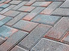 """Тротуарная плитка """"Кирпич"""" 200х100 высота 40 мм цветная, фото 2"""
