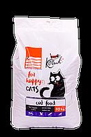 Сухой корм для кошек КОТиК NEW с морепродуктами 10 кг