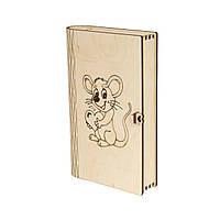 Оригинальная шкатулка Влюбленный мышонок