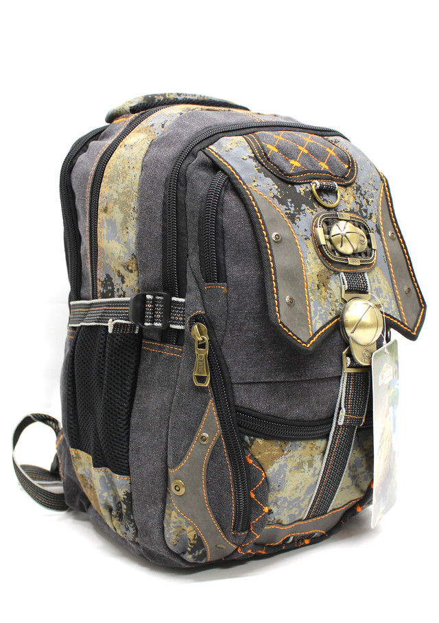 """Стильный брезентовый рюкзак """"AM 3Nine YR 17-M5-18"""""""