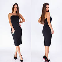 Платье женское 055 (S-M, L-XL) (цвета: черный) СП