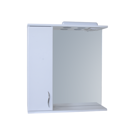 Зеркало для ванной комнаты Базис 65-01 левое ПИК, фото 2