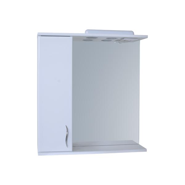 Зеркало для ванной комнаты Базис 65-01 левое ПИК