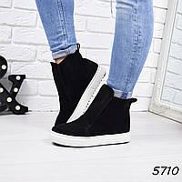 Ботинки женские Triniry черные 5710 деми