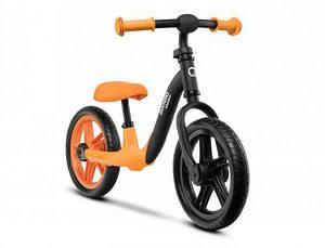 Детский беговел Lionelo Alex с подставкой для ног Orange