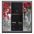 Шкаф купе ТВ 4 2100х450х2400 Алекса мебель, фото 4