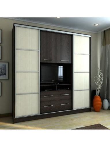 Шкаф купе ТВ 4 2100х450х2400 Алекса мебель