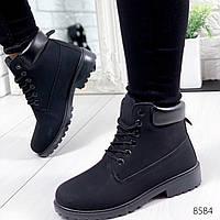 Ботинки женские Timi черные 8584, фото 1