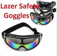 """Очки - маска тактические компании Laser USA """"Safety Goggles"""" Lux class."""