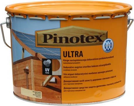 Pinotex Ultra 10л краска-лак Пинотекс Ультра «Палисандр», фото 2
