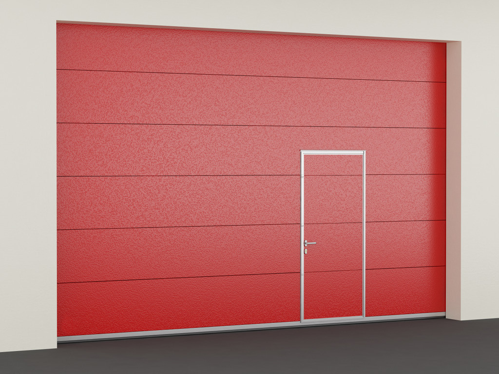 Секционные противопожарные ворота DoorHan с классом EI30 (3000х2400)