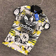 Мужская футболка с принтом Adidas (Множество вариантов)