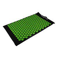 Акупунктурний масажний килимок, салатовий, фото 1