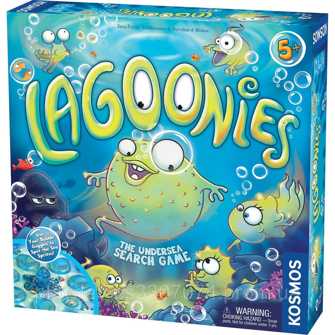 Настольная игра на внимание  Лагунис Lagoonies от Kosmos