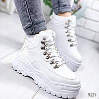 Ботинки женские Dexty белые 9221, фото 1