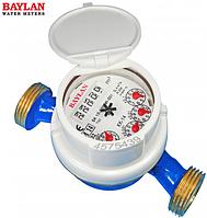 Счетчик холодной воды Baylan КК-14 Dn20 Qn4.0 м3 (Турция) L130 квартирный (без КМЧ)