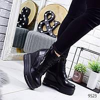 Ботильоны женские Terri черные кожа 9523, фото 1
