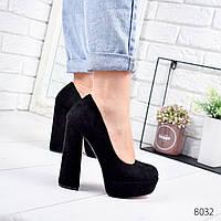 Туфли женские Florini черные 8032