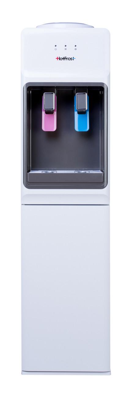 Кулер для воды напольный с верхней загрузкой HotFrost V1133 Компрессорный