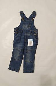 Джинсовые штаны-комбинезон синие Impidimpi (Германия) р.74/80см