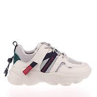 Стильные бежевые кроссовки  Lonza JL2001 BEIGE весна 2020, фото 1