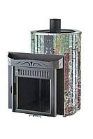 Печь для бани Vohringer Мини Экран (Жадеит+Россо Леванте, закрытая каменка)
