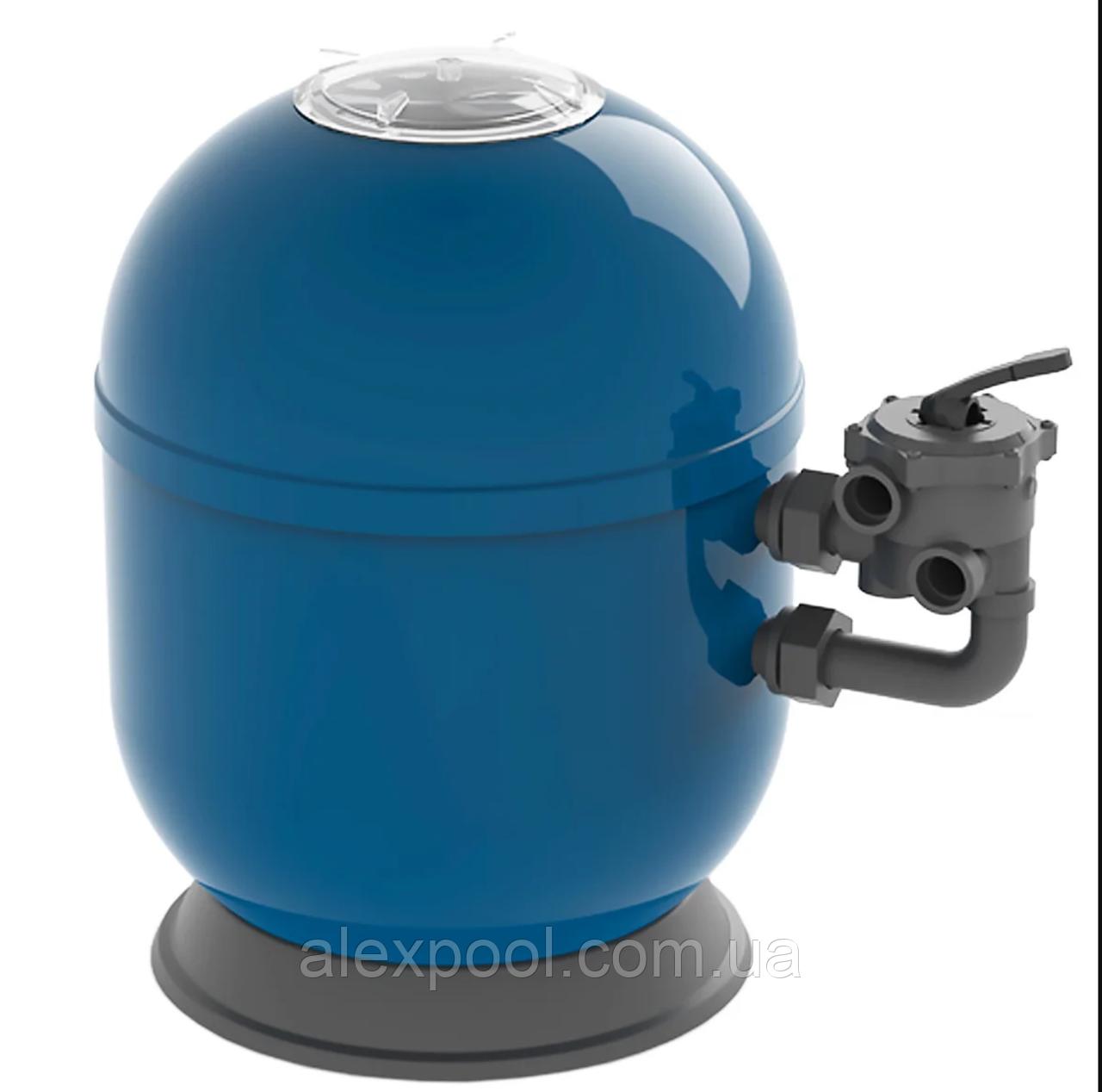 """Фильтровальная емкость Ariona Pools Ocean, 510 мм, 10,2 м3/час шестиходовой 1,5"""" бок клапан, 100 кг"""