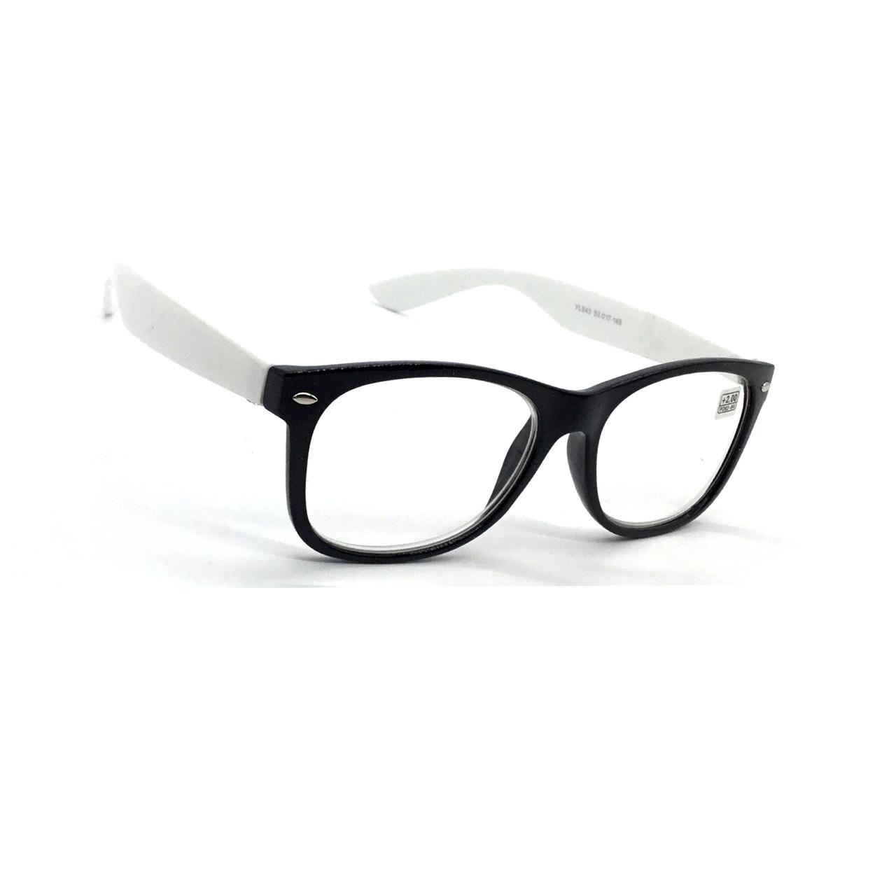 Очки для зрения с белой линзой 543
