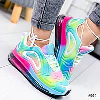 Кроссовки женские Rainbow мультицвет 9344, фото 1
