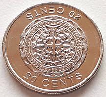 Соломоновы острова 20 центов 2012
