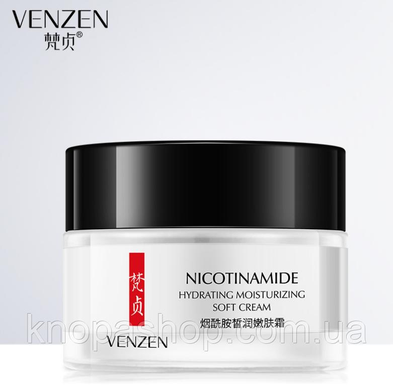 Крем лицо никотинамид VENZEN Nicotinamide Hydrating  Soft Cream (50г)