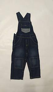 Джинсовые штаны-комбинезон синие Lupilu (Германия) р.86см