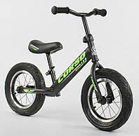 Беговел «Corso» 36906 Черный (колеса 12 дюймов)