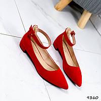 Туфли женские Nicole красные 9360, фото 1