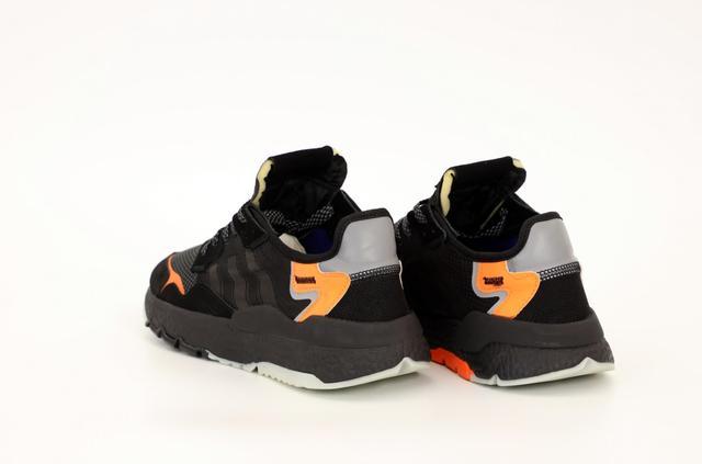 Мужские кроссовки Adidas Nite Jogger Black Orange фото