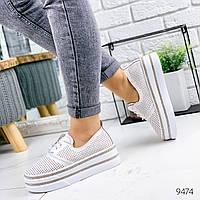 Туфли женские Fets белые 9474, фото 1